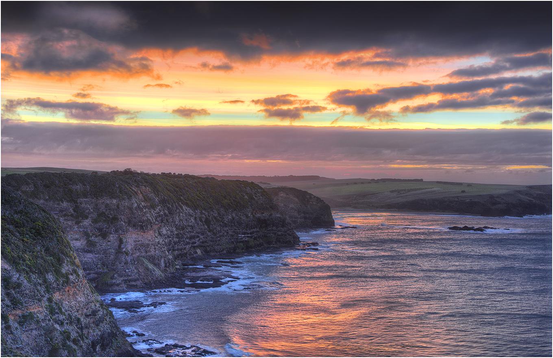 Dawn Shoot at Cape Schanck Western Port Bay Victoria April ...