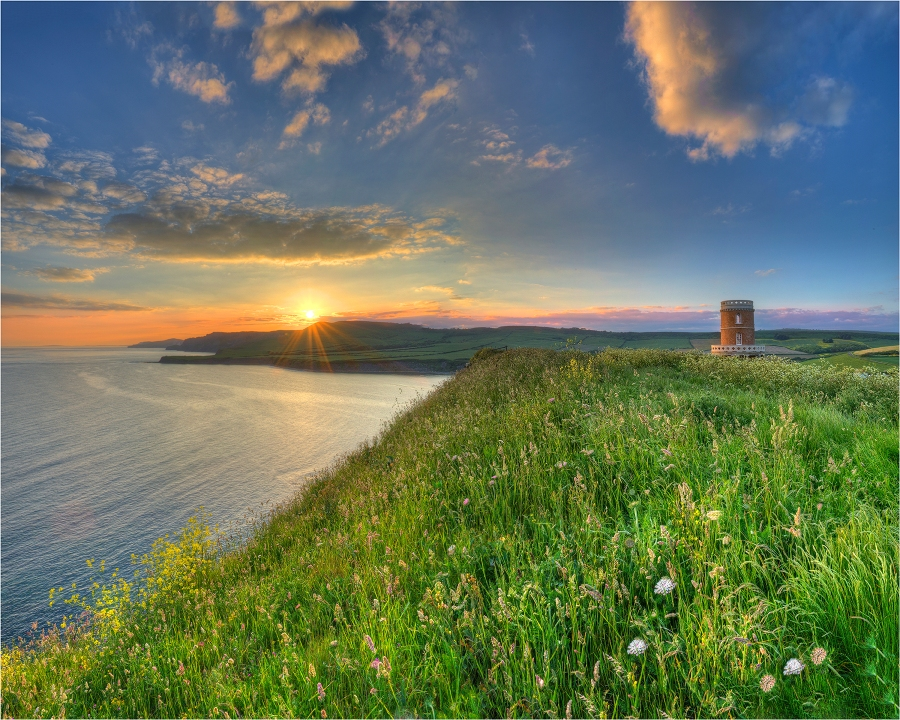 Clavell's-Tower-at-Sunset-E0542-20x25 copy