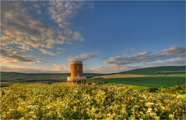 Clavell's-Tower-Summer-flowers-E05-11x17 copy