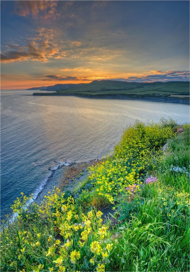 Kimmeridge-Bay-Sunset-E0541-14x20 copy