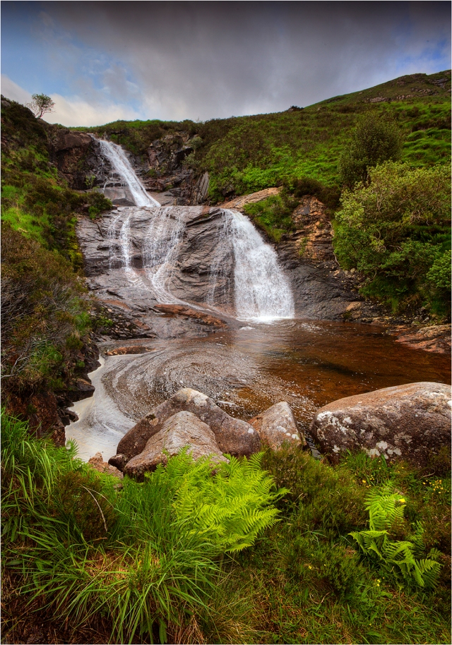 Waterfall-near-Sligachan-Skye-S0174-14x20 copy