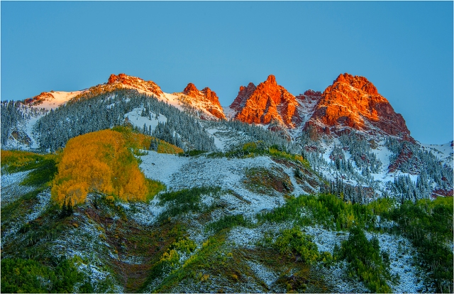 Golden-Dawn-Maroon-Bells-CLD087-11x17 copy