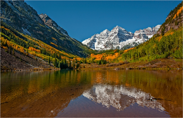 Maroon-Bells-Reflections-CLD090-11x17 copy