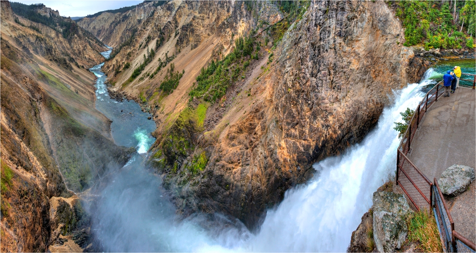 Viewing-at-Lower-Falls-YNP-WYM0190-16x30 copy