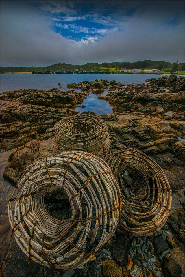 Lobster-Pots-Currie-KI0606-16x24