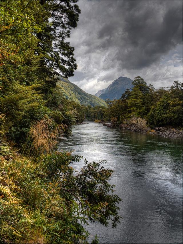 Clinton-River-Milford-Track-NZ086-12x16 copy