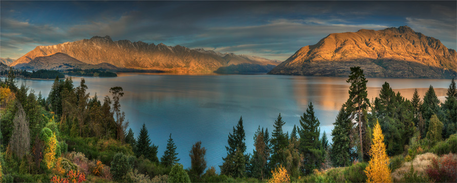 Lake-Wakatipu-Dusk-NZ0285-14x35