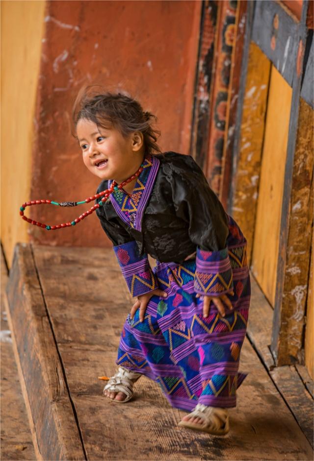 Girl-Punakha-Dzong-Festival-BHU045-17x25 copy