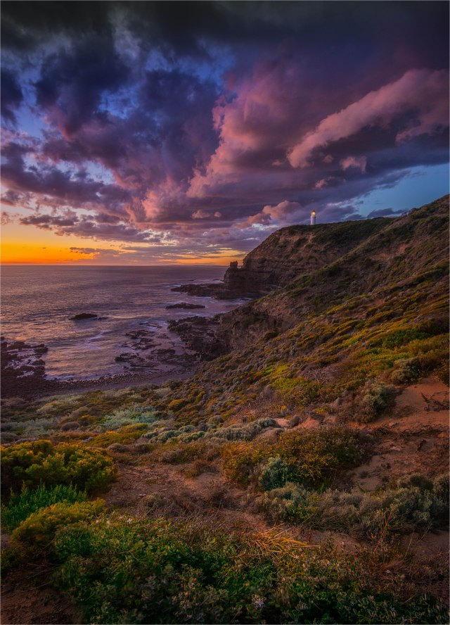 Cape-Schanck-Lighthouse-Dusk-V01-18x25
