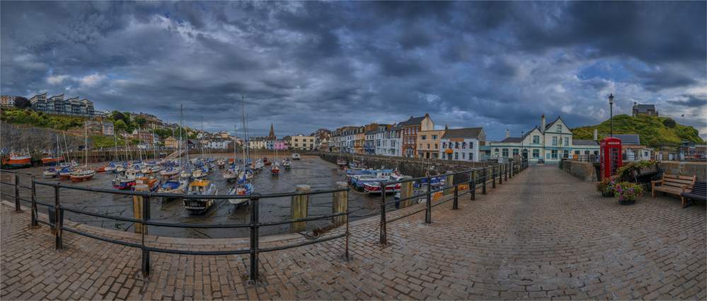 Ilfracombe-Harbour-Dawn-E0-20x47