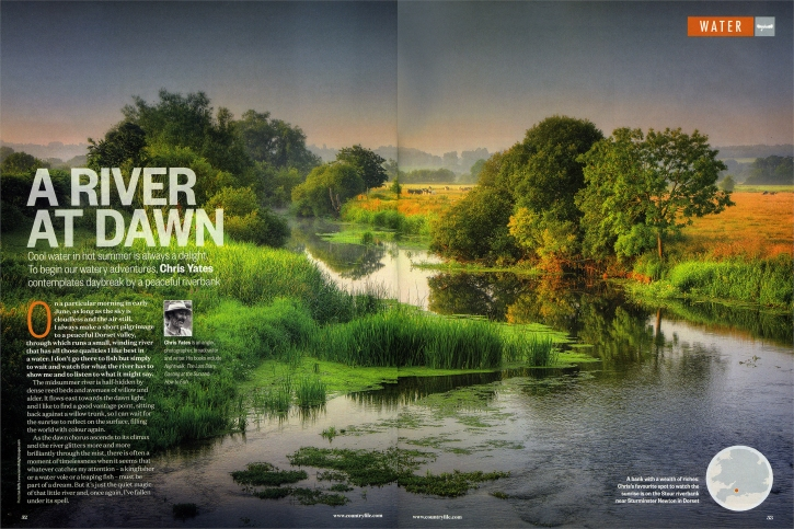 A-River-at-Dawn-Double-Page-BBC-Countryfile-Issue100-12x18