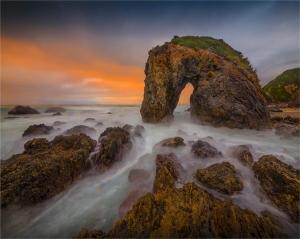 Horse-Head-Rock-Dawn-NSW001-20x25
