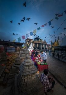 katmandu-swayambunath-2016npl-100-18x26