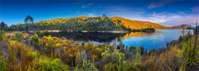 Lake-Pedder-Dusk-TAS0909-18x45