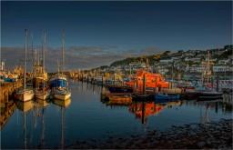 Penzance-Harbour-Dusk-E0689-11x17