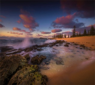 Cemetery-Bay-Beach-Dawn-Kingston-160919-Norfolk-Island-GG100