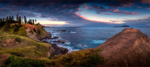 Ross-Point-Sunset-170919-Norfolk-Island-109-Panorama