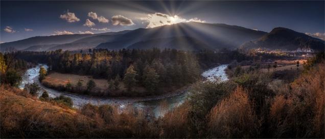 Kurjey-Lhakhang-Dusk-12162019-Bhutan-GG0044-Panorama