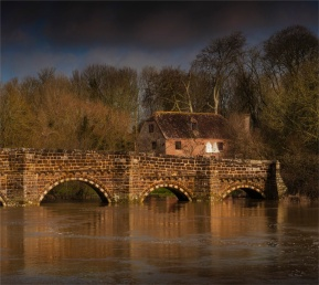 Stour-River-Winter-Flood-Bridge-2020-Feb-Dorset-ENG-0043